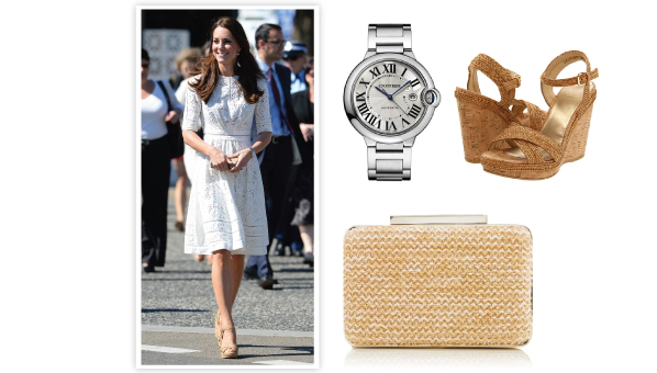 Kate Middleton stuart weitzman espadrille wedges, stuart weitzman cork wedges