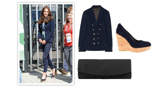 Kate Middleton wedge espadrilles