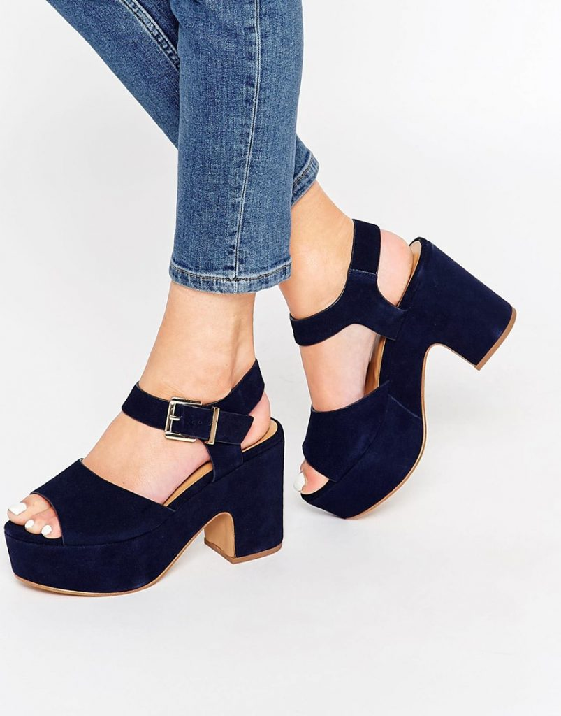 Platform Sandals, Sneakers, and Pumps