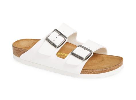 white sandals for women, white birkenstock sandals