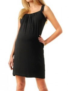 Lavish Sleeveless Maternity Dress