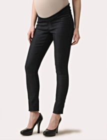 Loved By Heidi Klum Under Belly Super Stretch Slim Leg Maternity Jeans