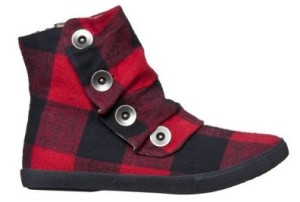 Mossimo Flannel Booties
