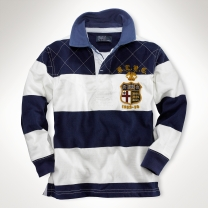 Striped Crest Rugby