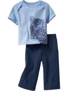 Graphic 2-Piece Sets for Baby Lion
