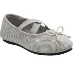 Patterned Cross-Strap Ballet Flats for Baby