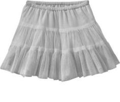 Gray Tiered Tutus for Baby