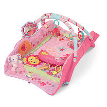 Bright Starts Baby's Playplace Deluxe - Pretty in Pink
