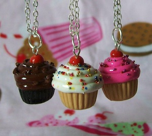 Everyday Cupcake Necklace