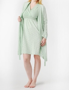 Women's Plus Size Silk and Charmeuse Nightgowns and Chiffon Wraps