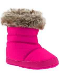 Soft-Sole Puffa Boots for Baby