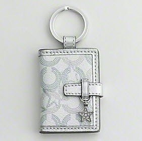 Coach Photo Key Ring