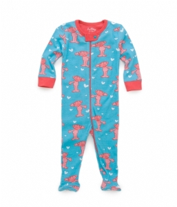 Hatley Zoe Infant Footed Coverall