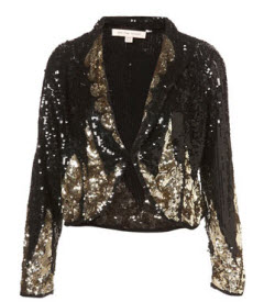 Kate Moss for Topshop Sequin Blazer