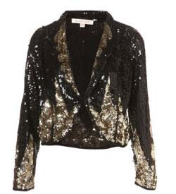 Kate Moss for Topshop Sequin Blazer