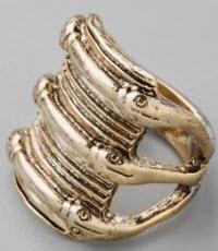 Luv Low Snake Ring