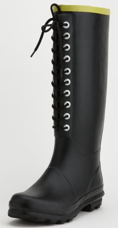Lace Up Rain Boots | Chooka | Charlotte Russe « Get It Now - SHEfinds