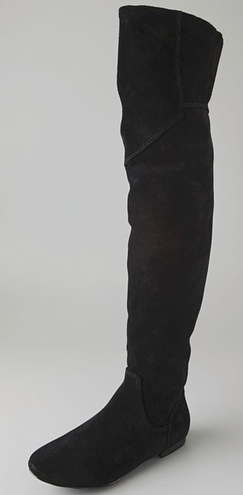 Over the Knee Boots | Tall Suede Boots | Online Sales