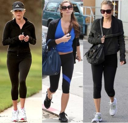 Celebrities Running