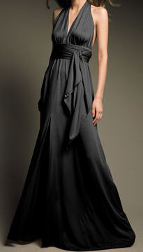 Black Long Dress on The Name Black Tie Implies It S Always A Safe Bet To Show Up In Black