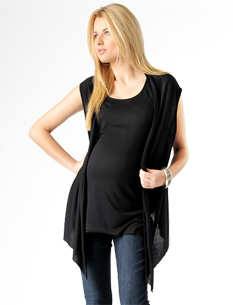 Lavish By Heidi Klum Layered Maternity Tank And Vest