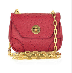 Marc by Marc Jacobs Perfect Ostrich Purse