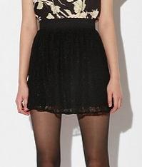 Nom De Plume Lace Skirt