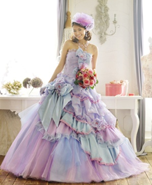 worst wedding dresses lavender wedding dresses