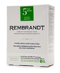 Rembrandt 5 Day Teeth Whitening Strips