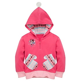 Skating Minnie Mouse Hoodie