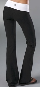 So Low Contrast Fold Over Pants