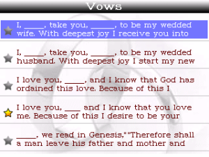 Need help with essay writing vows