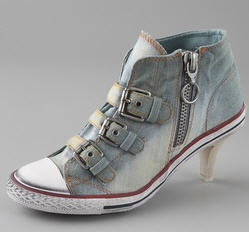 Ash Flirt Kitten Heel Sneakers