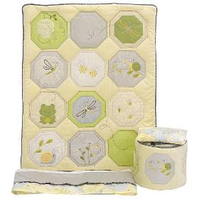 Carter's Bumble 4-Piece Crib Bedding Set