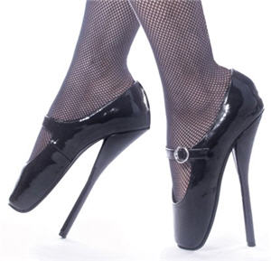 Devious 'Fetish' Ballet High-Heel Shoes
