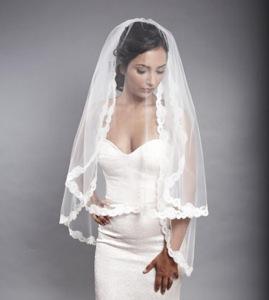 gold wedding veil bridal headpiece french chantilly fashion forward eyelash fringe delicate lace embellished camilla christine isabella veil hair