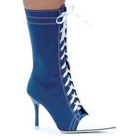 High Heel Sneaker Ankle Boot