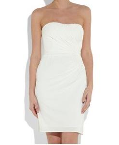 Issa Silk-jersey strapless dress