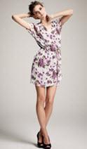 Kinder Aggugini for Macy's Floral Kimono Dress