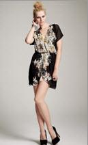 Kinder Aggugini for Macy's Kimono Dress