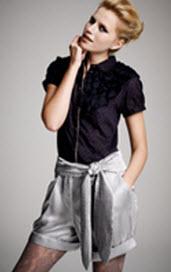 Kinder Aggugini for Macy's Metallic Shorts