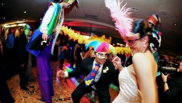 Mardi Gras Wedding Theme
