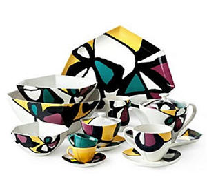 DIANE von FURSTENBERG Miro Flowers Dinnerware Collection