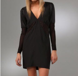 Pencey Long Sleeve Dress