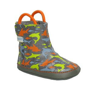 Robeez Mini Shoez Feeding Frenzy Rain Boots