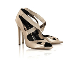 Rupert Sanderson Cross Sandals