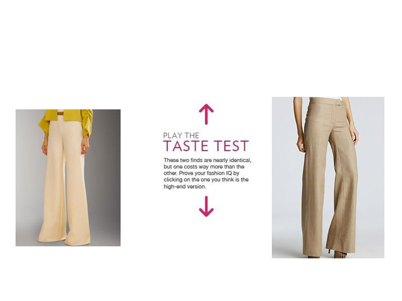 f60d8cdcbd550 Keep yourself guessing with all of our Taste Tests. Shop our guides to the  best wide leg pants and the best flattering pants. Join our e-mail list for  ...