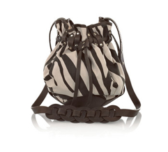 Temperley London Zebra Canvas Bag