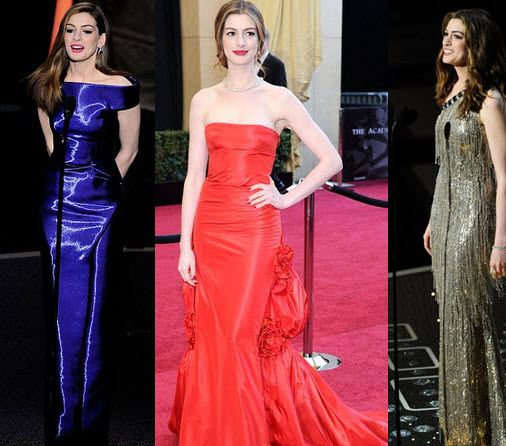 Last week, we predicted some of Rachel Zoe's Oscar looks for Anne Hathaway,