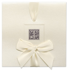 William Arthur Beveled Border Invitations